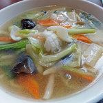 10333245 - 海鮮入り野菜スープ麵