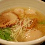麺処 銀笹 - 銀笹ラーメン 塩