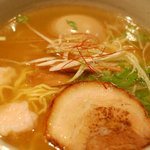 麺処 銀笹 - 銀笹ラーメン 塩醤油