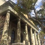 旧桜宮公会堂 - 外観2:旧造幣寮鋳造所正面玄関