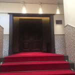 旧桜宮公会堂 - 内観1:ダイニング入口