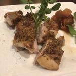ダイニングバー エイト - 鶏肉のマスタード