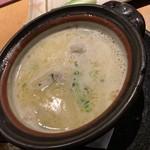 103335814 - 白濁鶏ガラ本スープ