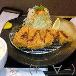 10334344 - ランチ限定「芋豚とんかつ定食」(1000円)