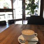 コーヒーファクトリー  - 新しくできた奥のカフェスペース
