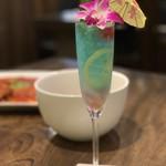 あなたの心に残る シンガポール キッチン&バーHOLIC - ブルーラグーン 1,000円。