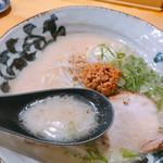 103343567 - コクがありながら、あっさり 美味スープ(≧∀≦)