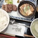 牛たん焼き 仙台辺見 - 上たん焼きと牛すじ煮込み定食