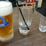 山田屋 - ドリンク写真:生ビール&いいちこ