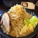 ラーメン勝盛軒 - 野菜マシ