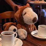 アラスカコーヒー館 - ドリンク写真:まずはセットの珈琲が来たよ。 サイフォンで丁寧に淹れられた珈琲は 飲みやすくて美味しいです。