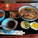 末錦 - 料理写真:ミニうな丼セット 温きしめん