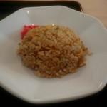 麺家 口熊野食堂 - セットのチャーハン