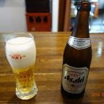 まるわ - まずはビールで乾杯