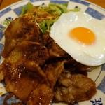 たまたまタマゴ - 料理写真:(2019/1月)豚肉のスタミナ焼肉定食