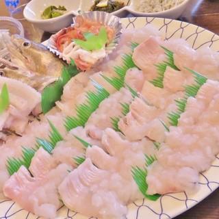 沼島では欠かせない旬の味覚、≪鱧×鯛≫を味わい尽くす!