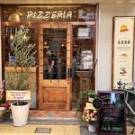 Pizzeria Asso da yamaguchi - 外観。天五中崎通り商店街