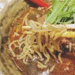 ごまめ家 - つるモチ麺