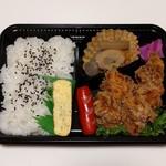 えいと - 料理写真:から揚げ弁当(450円)