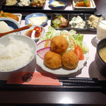 津山城東とうふ茶屋 - ありがとうふ御膳 1,250円