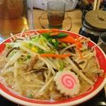 麺堂 香 - 野菜ラーメン
