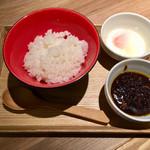 KYOTO MISO RAMEN KAZU - カレー肉味噌ごはん(提供時)
