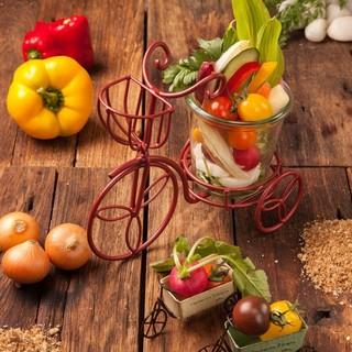 約30品目の品揃え!野菜の世界観をお楽しみください!