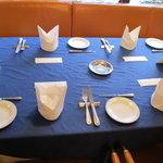 レストラン ストックホルム - テーブルセット