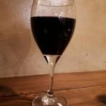 103370647 - 赤ワイングラス