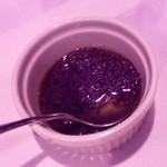 レストラン潮幸 - パンに付けるオリーブオイルとアンチョビとケッパーの。
