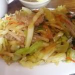 中國料理 萬来 - 肉野菜炒め 515円