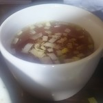 中國料理 萬来 - スープ(ライスセット)