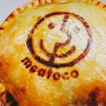 ミートコ - オージービーフたっぷりのミートパイは当店の看板メニューです♪