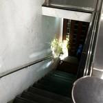 ぺしゃわーる - 地下へ下りる階段