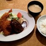 洋食の欧風軒 - Aセット¥950-