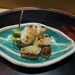 佐藤 - 河豚の白子、福岡筍、蚕豆