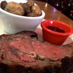 Lone Star Steakhouse & Saloon - 同僚が食べた           「プライムリブ1lb」