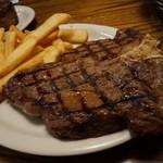 Lone Star Steakhouse & Saloon - 妻たちが食べた           「ポーターハウス20oz」