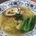 麺や 暁 - 塩ラーメン