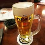 海鮮居酒屋 がいや - 生ビール