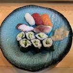 どい寿し - 寿司5貫セット