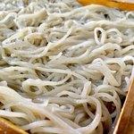いし田 - 細切り蕎麦