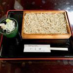 いし田 - ざるそば  ¥800