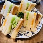 やまさき珈琲店 - ミックスサンド