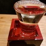 飯と酒屋 - こぼれワイン白