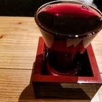 飯と酒屋 - こぼれワイン赤