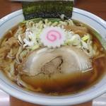 ついてる中山 - 【煮干しそば】¥850