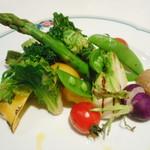 103400198 - 地野菜のグリル焼き