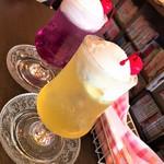 喫茶 宝石箱 - クリームソーダ(各550円)