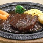 レストラン山水 - ハンバーグステーキデミグラスソース